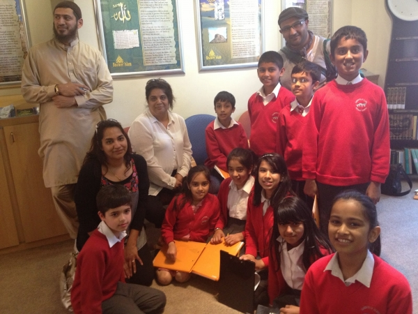 Sandfield Close Primary Pupils Visit Islam Information Ccentre